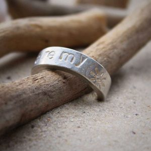 Ring silber Poems