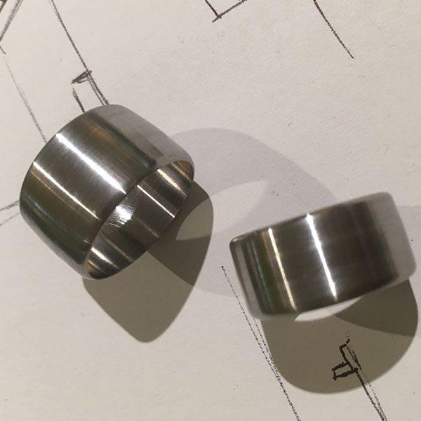 Entwurf Silberringe